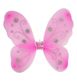Pink Light-Up Butterfly Wings
