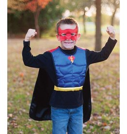 Rev. Superhero/Bat Tunic w/Mask (4-7)
