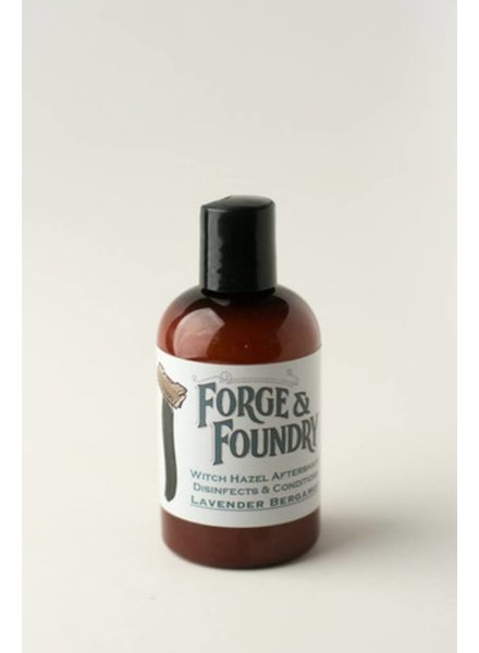 Forge & Foundry witch hazel aftershave bergamot lavender