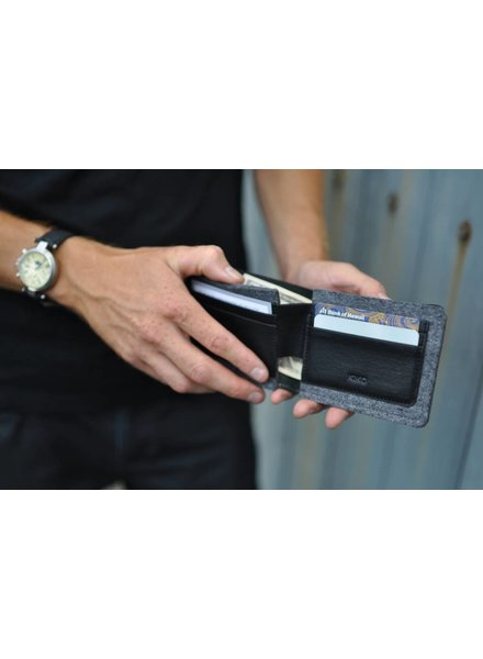 kiko DUEL TEXTURED WALLET 134