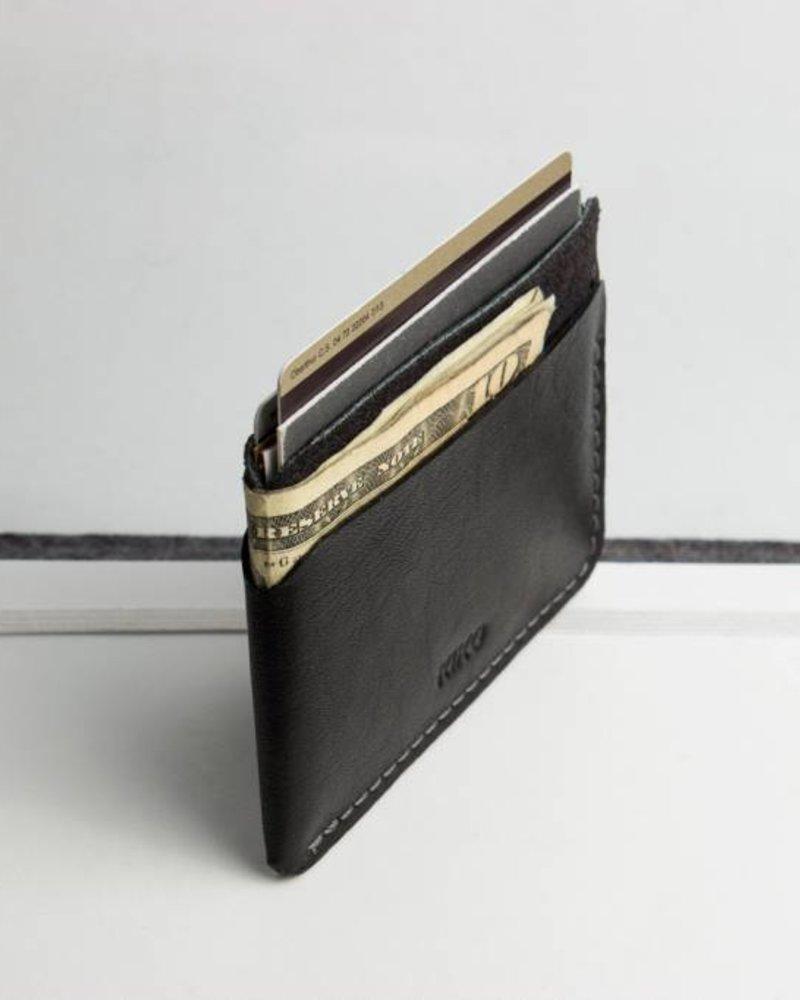 kiko triple pocket card case