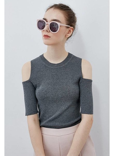 Few Moda fitted knit top