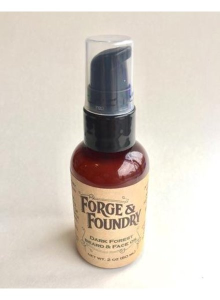 Forge & Foundry beard oil + face moisturizer dark forest