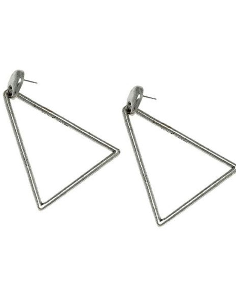 Avant Garde tri earrings