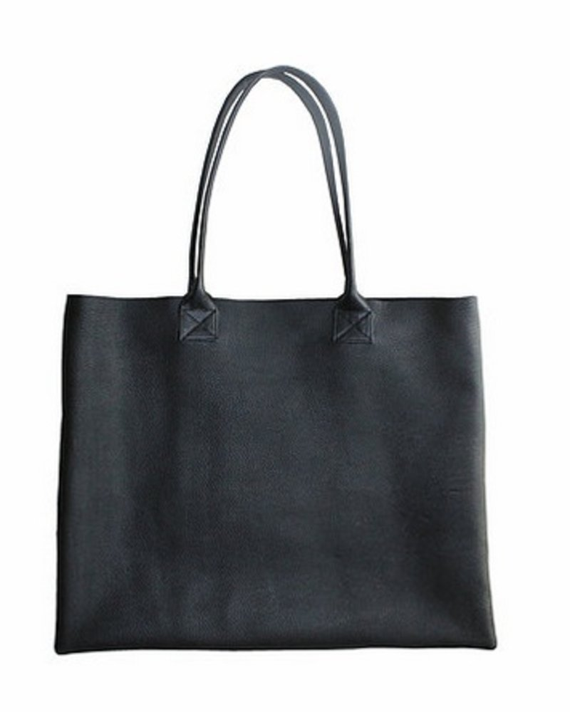 Weekend by Project 15 raw leather tote