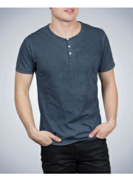3 button henley