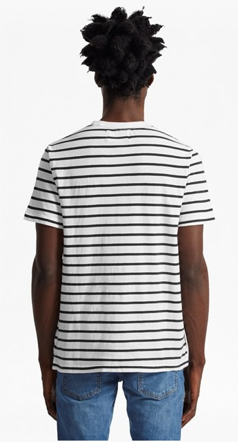 French Connection jean stripe henley