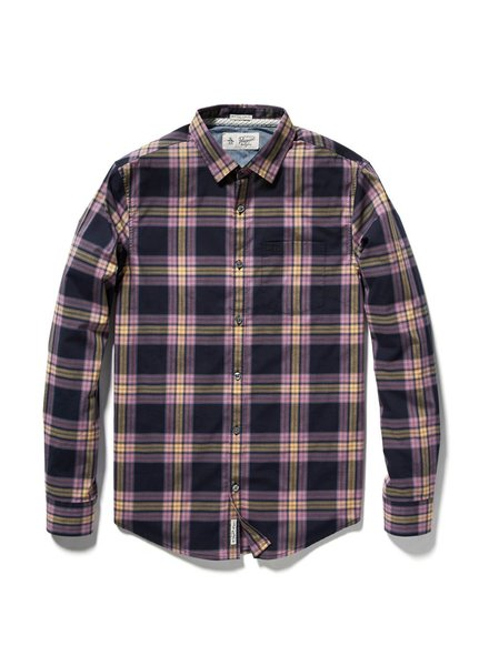 PLAID STRETCH SHIRT