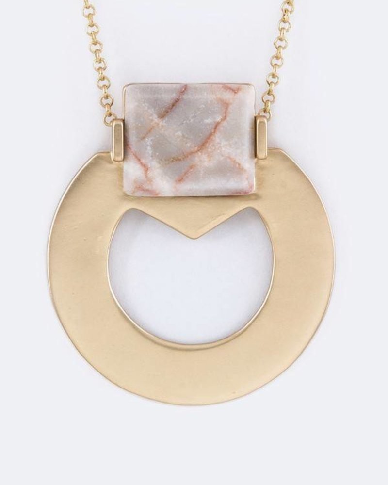 the art of style PAVED PENDENT