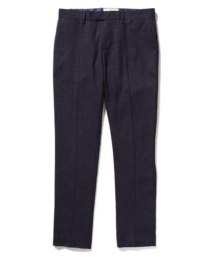 CROSSHATCH NEP DRESS PANT