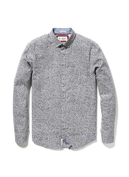 DROP HEATHERED SHIRT