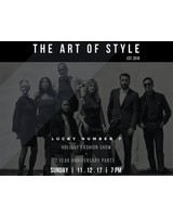the art of style HOLIDAY FASHION SHOW TICKET.