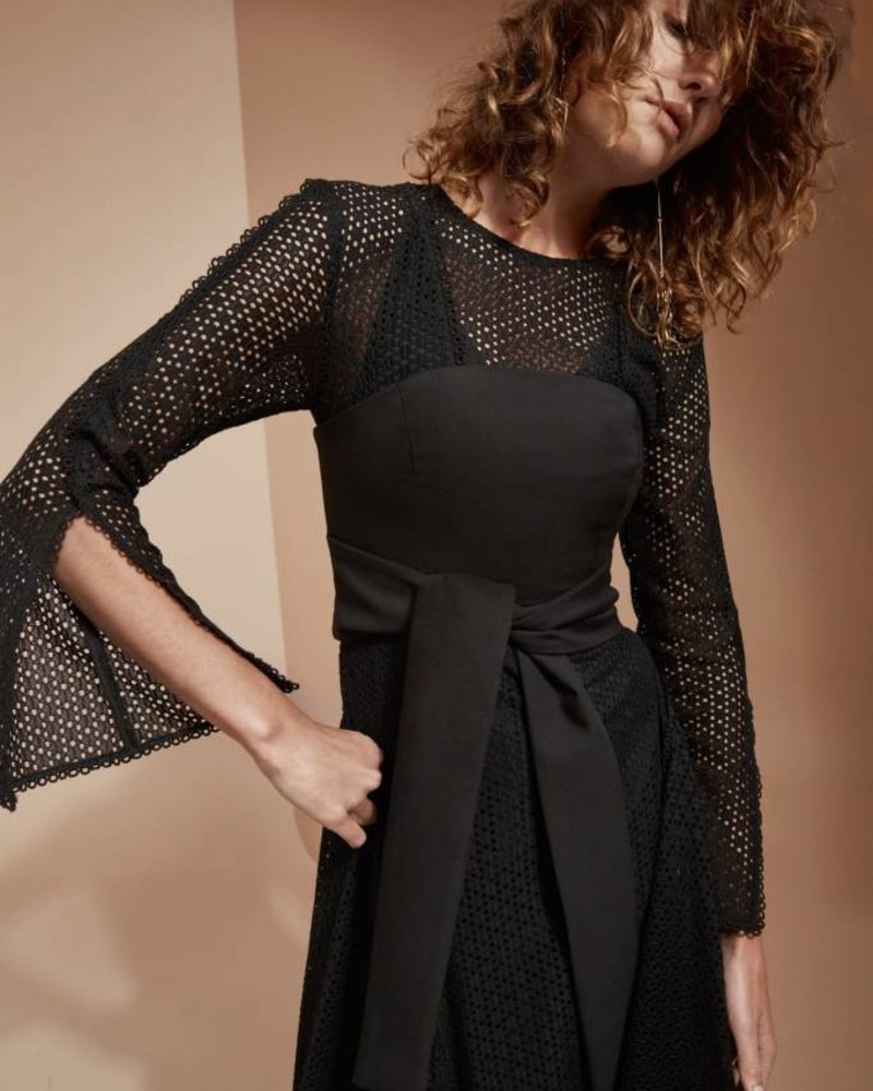 C/meo Collective ASPIRE L/S DRESS