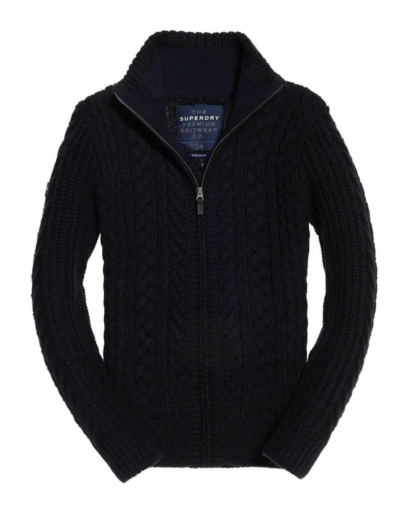 superdry MARINER ZIP THROUGH