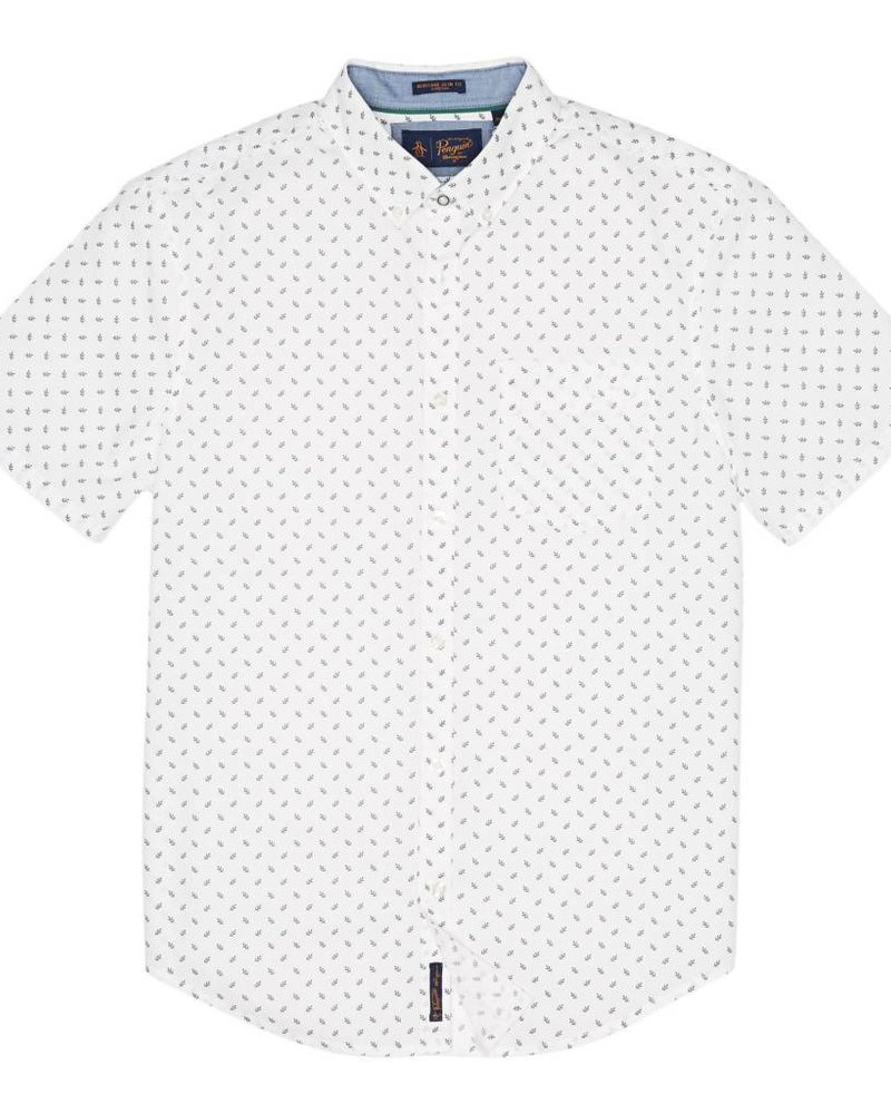 Original Penguin LEAF PRINT SHIRT