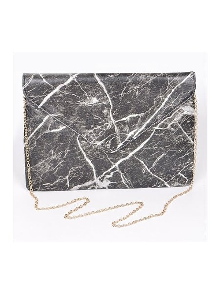 The Art of Style MARBLE ENVELOPE BAG