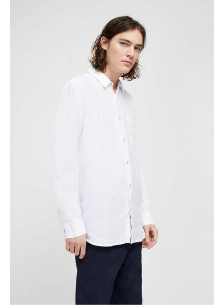 French Connection LINEN CHAMBRAY SHIRT