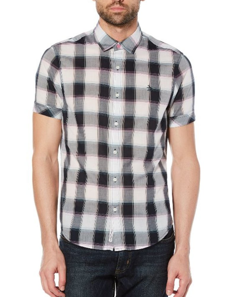 Original Penguin PLAID ON LAWN