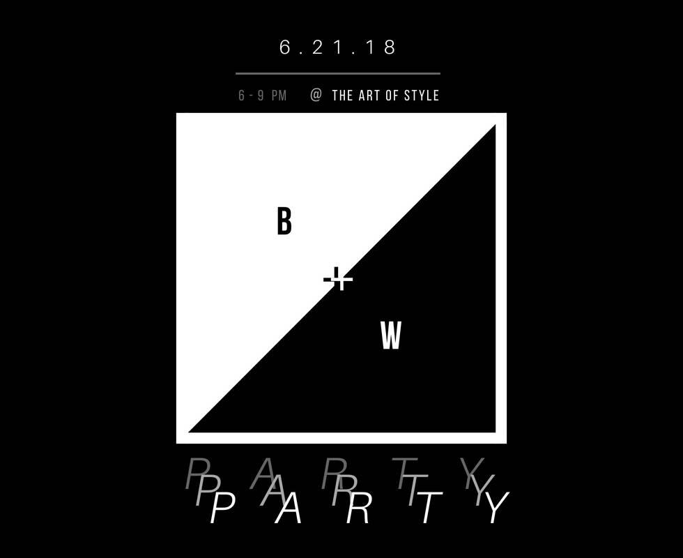 BLACK + WHITE PARTY.