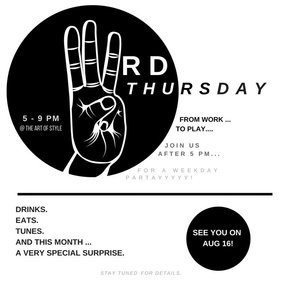 Third Thursday | A WEEKDAY PARTY