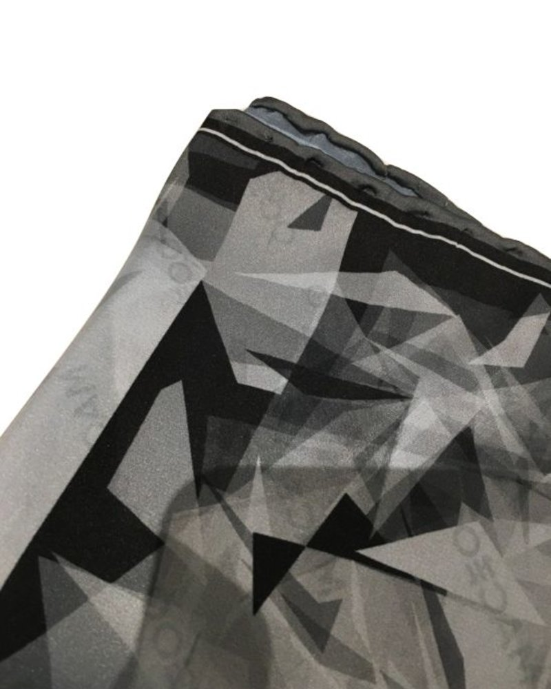 MACEOO ICE SHELF POCKET SQUARE