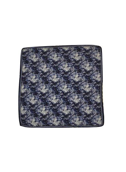 MACEOO AEGEAN POCKET SQUARE