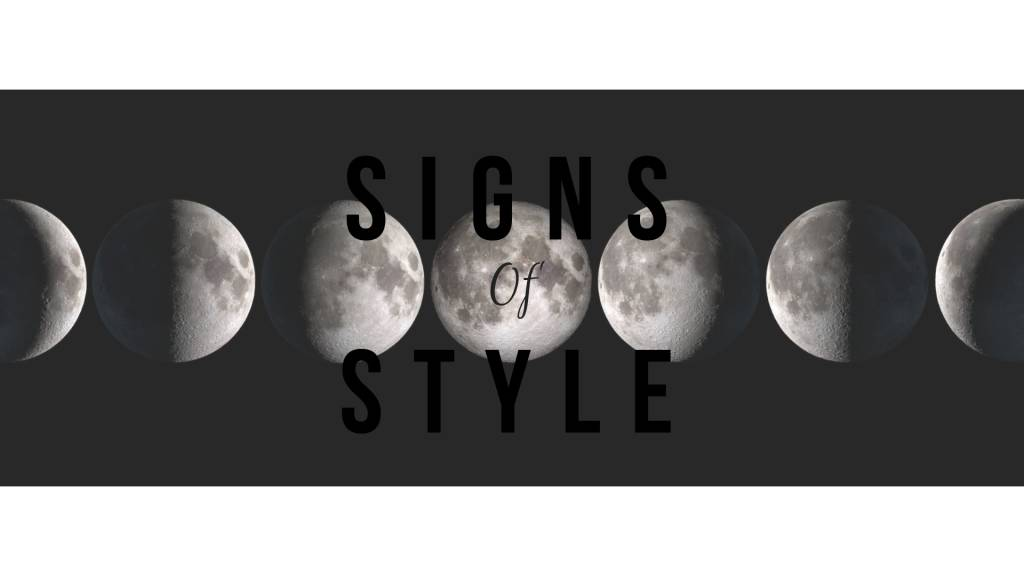 SIGNS OF STYLE | Third Thursday