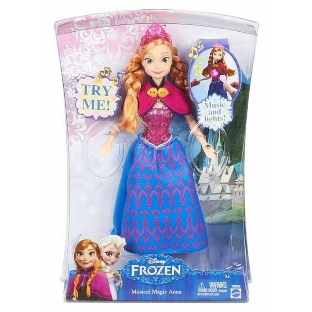 Mattel Anna magie musicale