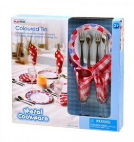 Ensemble de vaisselle en métal Playgo