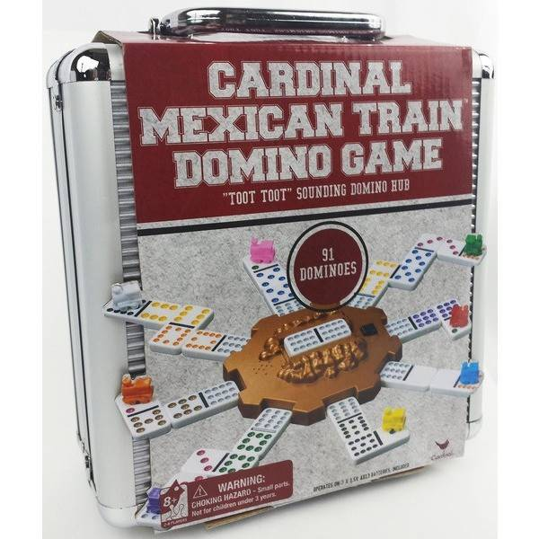 Domino train mexicain double 12