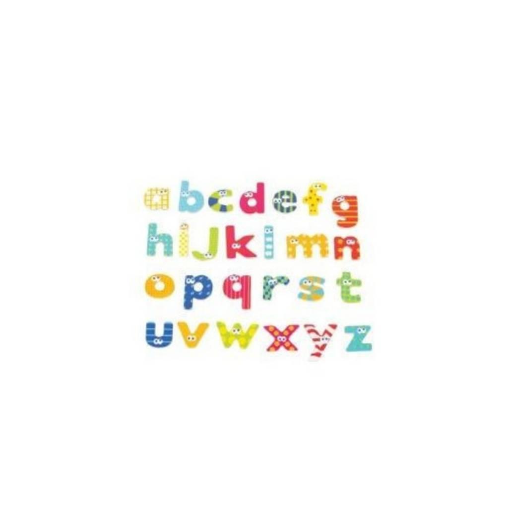 Lettres minuscules magnétiques 59 pièces