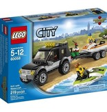 Lego LEGO City - 4x4 avec motomarine