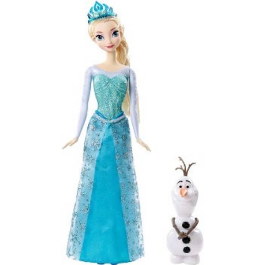 Mattel Barbie Reine des neiges - Elsa et Olaf