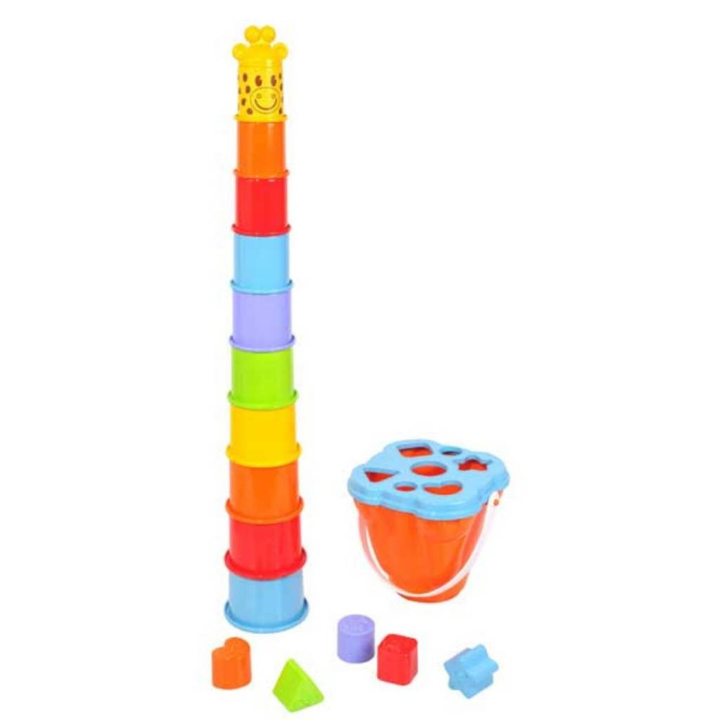 Playgo Centre d'activités girafe