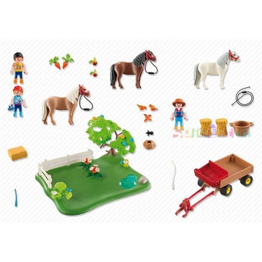 Playmobil Playmobil - Poney et cariole
