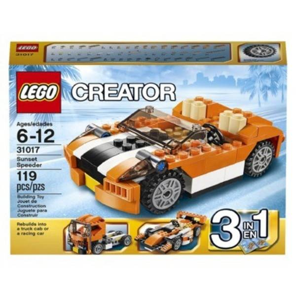Lego LEGO Creator - Décapotable orange