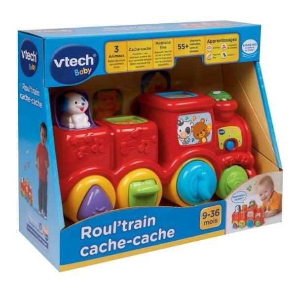 Vtech Roul' train cache-cache