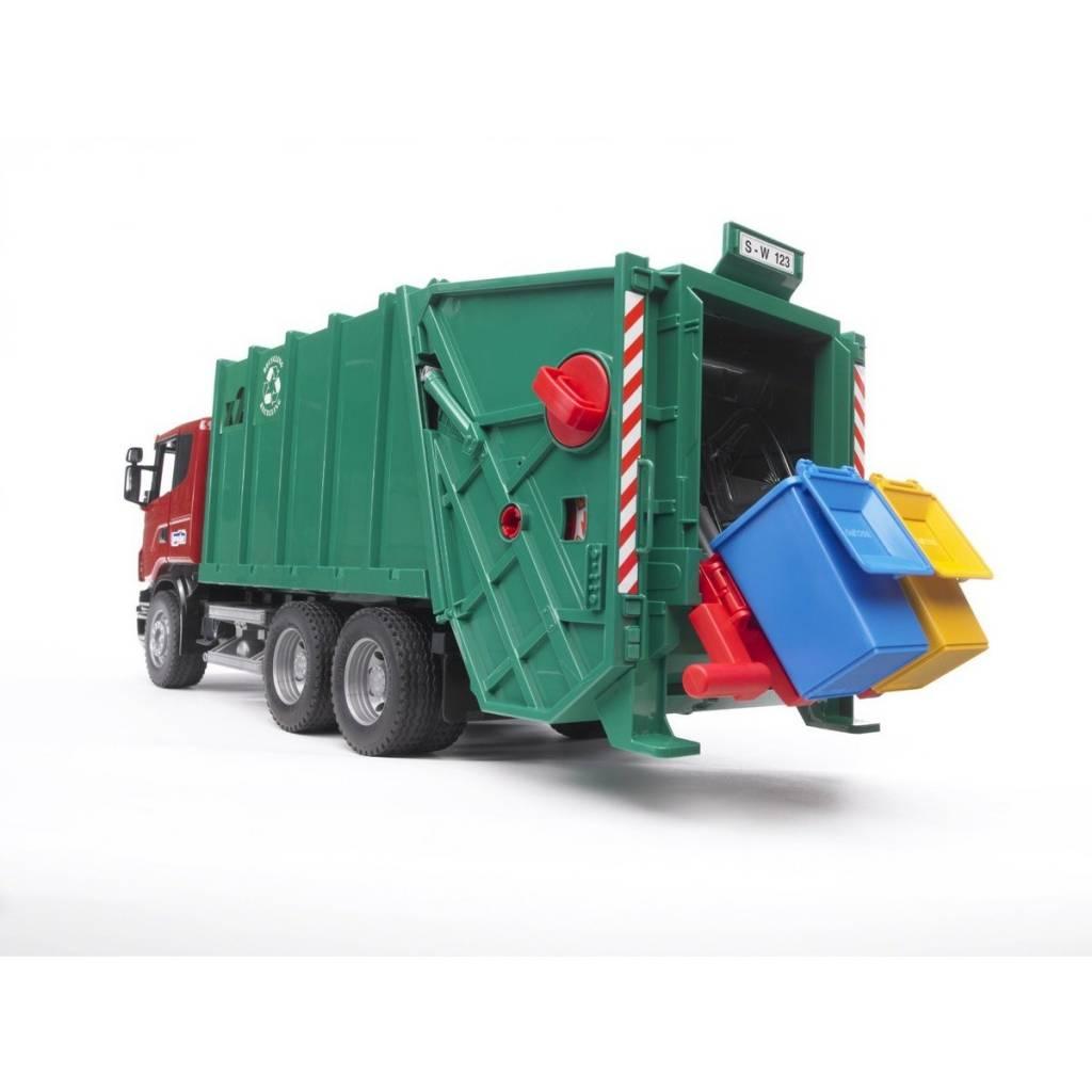 Bruder Camion à ordures Mack
