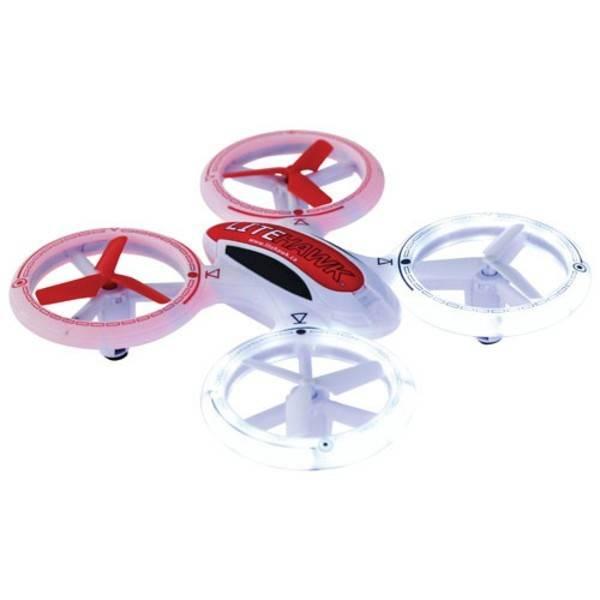 LiteHawk Drone Quattro Néon