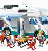 Playmobil Famille avec camping-car