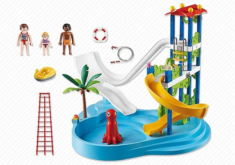aire de jeux aquatique playmobil galerie du jouet. Black Bedroom Furniture Sets. Home Design Ideas