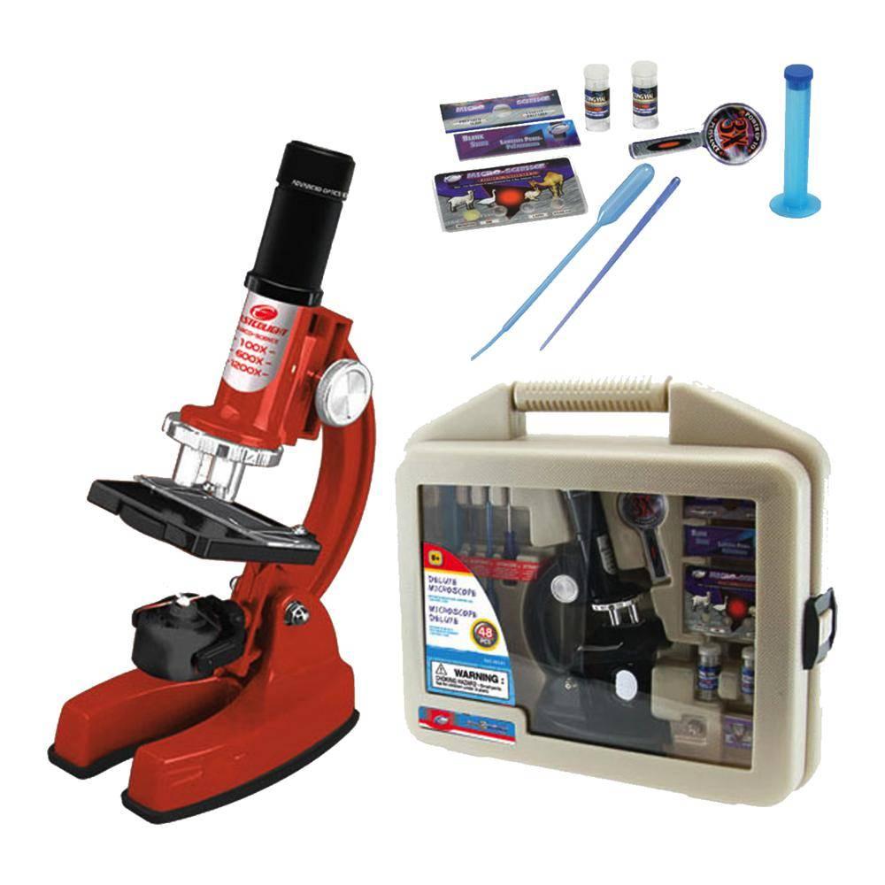 Microscope de luxe 900x en mallette