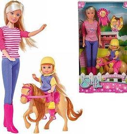 Steffi love entrainement de cheval