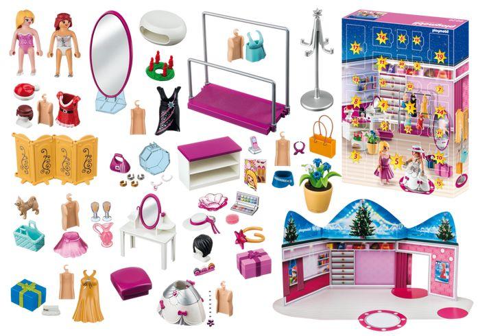 Playmobil Calendrier de l'avent Paymobil Loge d'artiste