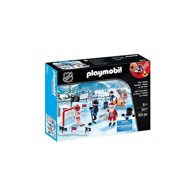 Playmobil Calendrier de l'avent Paymobil - NHL hockey