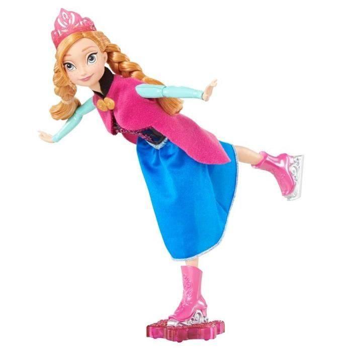 Mattel Anna reine du patinage