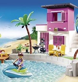 Playmobil Maison de plage de luxe