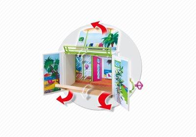 Playmobil Coffret Terrasse de vacances