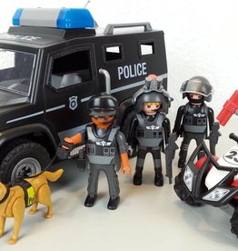 Playmobil Fourgon d'intervention de police