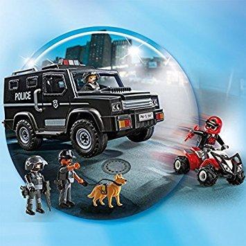 Playmobil Fourgon d'intervention de police